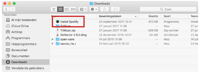 Spotify downloaden en installeren