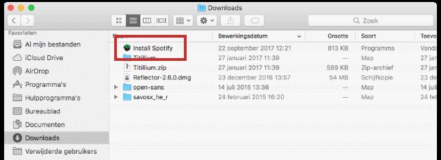 Spotify downloaden en installeren