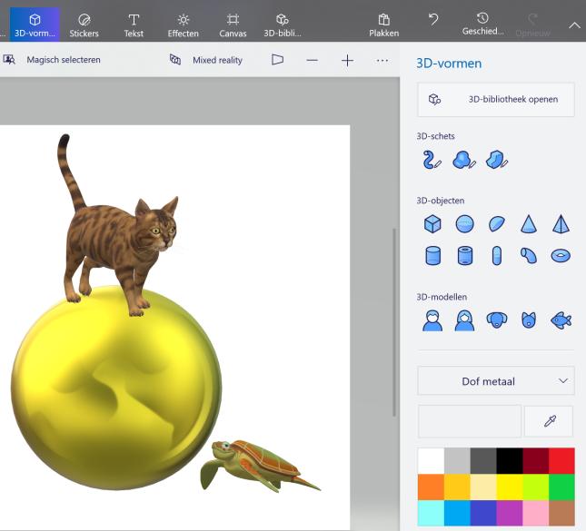 3D-afbeeldingen invoegen