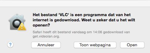 VLC installeren