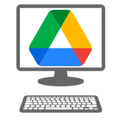 Google Drive op de computer