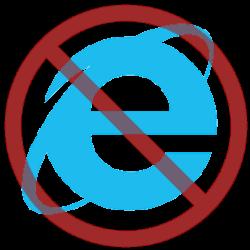 Internet Explorer 11 stopt