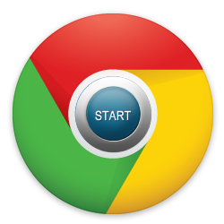 startpagina in google chrome