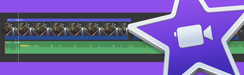 Filmpje maken met iMovie op Mac