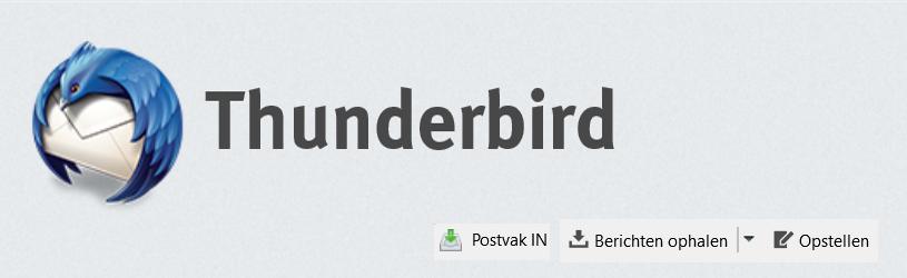 E-mailen met Thunderbird