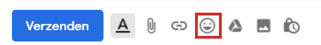 Het pictogram voor de emoticons