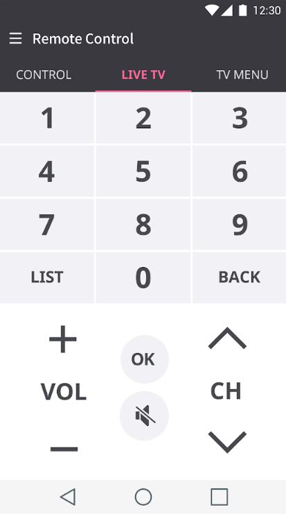 Een smartphone als afstandsbediening voor de smart-tv