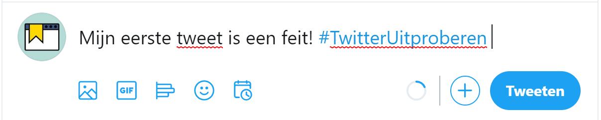 Tweet plaatsen