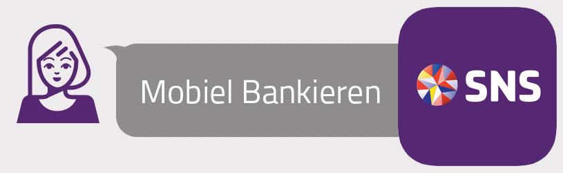 SNS-bank app Mobiel Bankieren