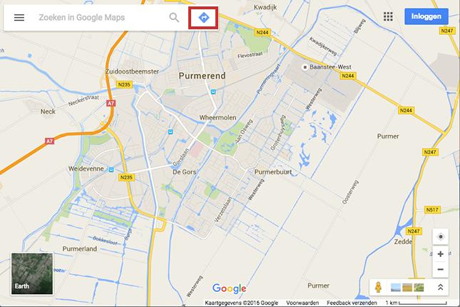 Wandelroute plannen in Google Maps