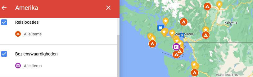 My Maps van Google
