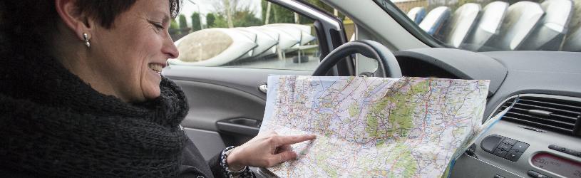 Ook een route plannen kan digitaal met Google Maps