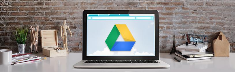 Werken met Google Drive via internet