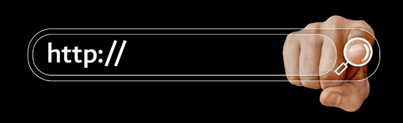 Adresbalk-opties