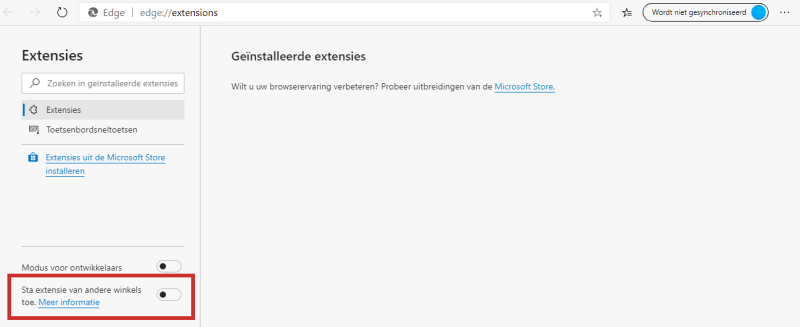 Chrome-extensies installeren