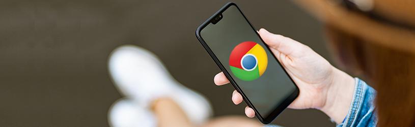Internetten met Chrome-app