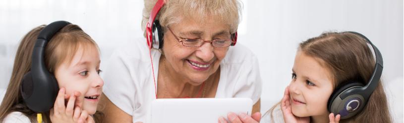Muziek luisteren met Spotify