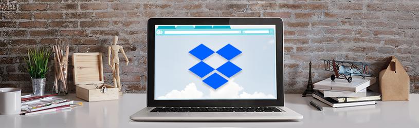 Werken met Dropbox via internet