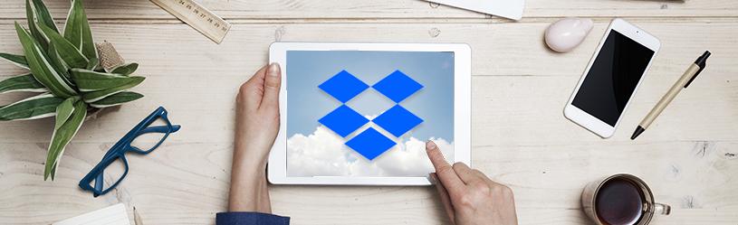 Werken met Dropbox op iPhone of iPad