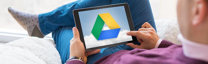 Werken met Google Drive op Android-apparaat