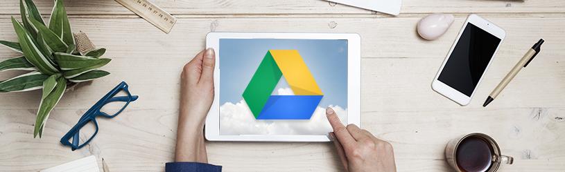 Werken met Google Drive op iPhone of iPad