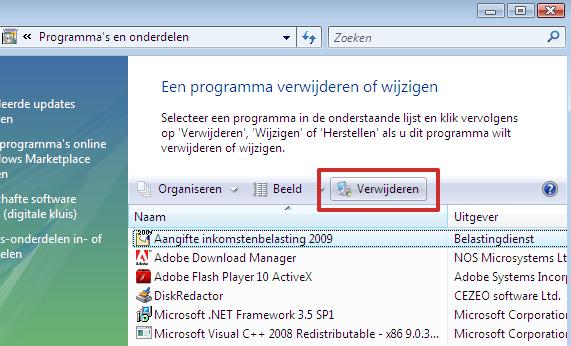 20150821_computer veilig wegdoen_programmas verwijderen