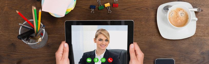 Videobellen, apps