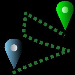 voortgang-reis-delen-google-maps