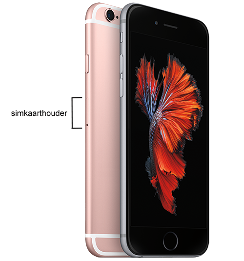 Simkaarthouder iPhone