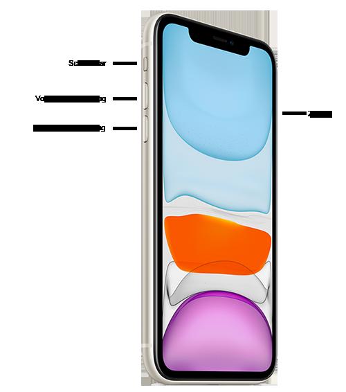 Knoppen op de iPhone