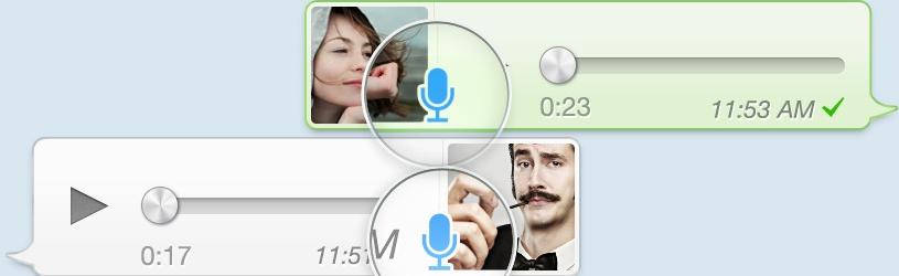 WhatsApp op de iPhone