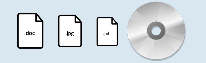 Cd of dvd branden in Windows10