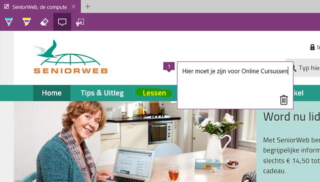 Windows10 webnotitie