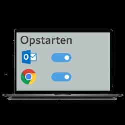 Apps automatisch opstarten in Windows
