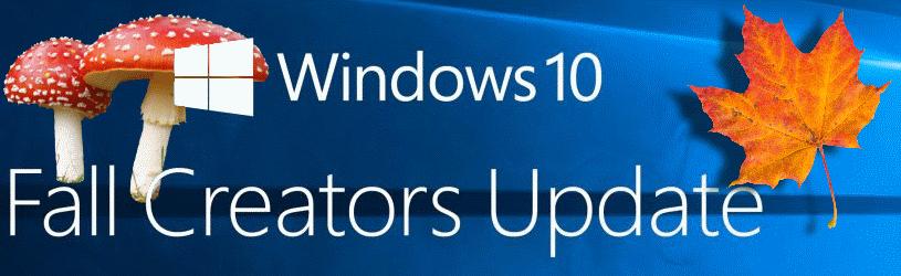 Fall Creators Update, Windows 10