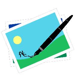 tekenen en schrijven op foto(1)