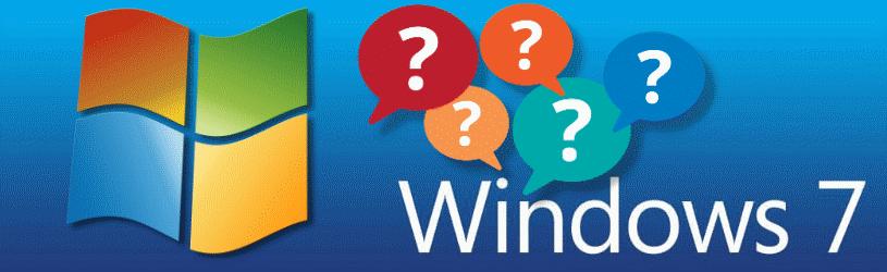 Einde van Windows 7