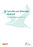 Cursus - Leer alles over WhatsApp (Android)